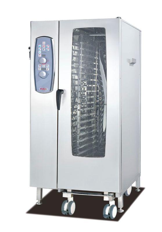 Floor Type 20*1/1GN Combi-Steamer Oven commercial cooking equipment