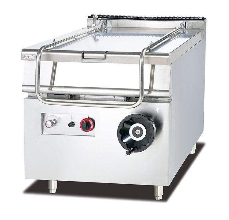 80L Capacity Gas Tilting Braising Pan Restaurant Kitchen Equipment ...