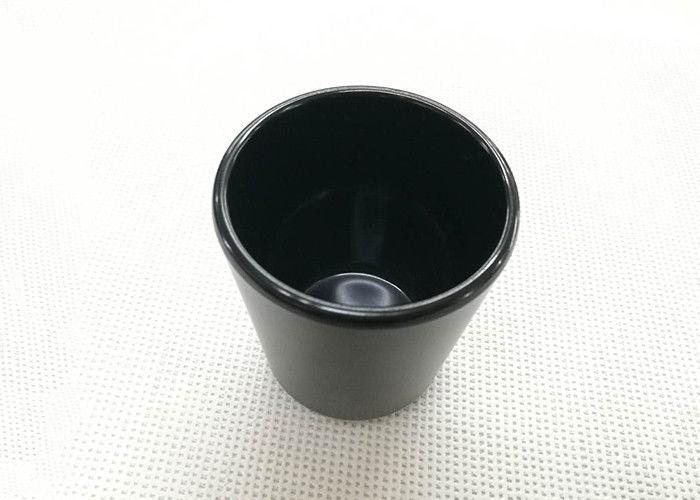 Black Color Tea Cup Imitation Porcelain Dinnerware Sets Dia7.6cm H9.2cm Weight 168g  sc 1 st  Commercial Kitchen Equipments & Black Color Tea Cup Imitation Porcelain Dinnerware Sets Dia7.6cm H9 ...
