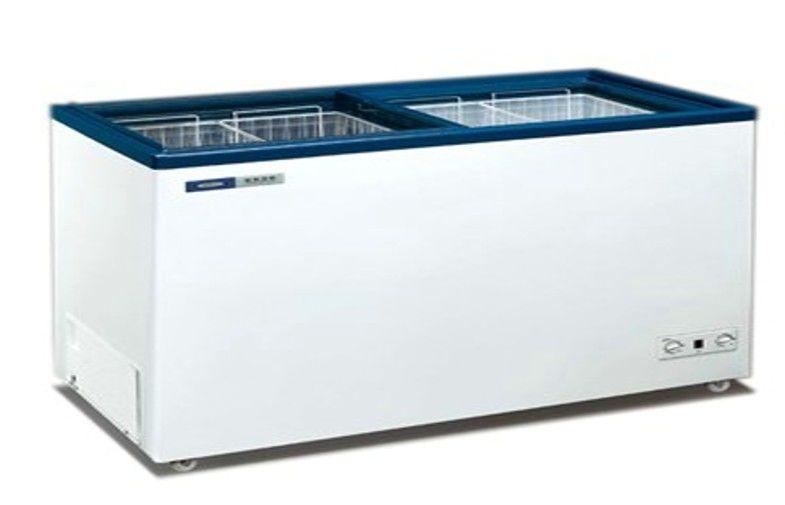 Restaurant Top Glass Door Commercial Refrigerator Freezer 230l