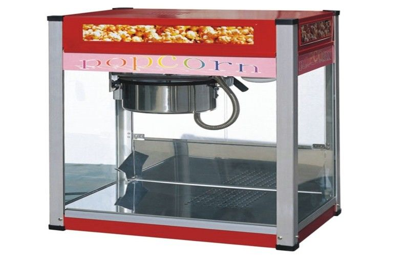 hotel painting snack bar equipment commercial countertop popcorn machine