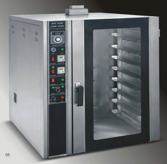 Industrial Kitchen Ovens For Sale: Energy-Saving Electric Hot Air Circulation Oven