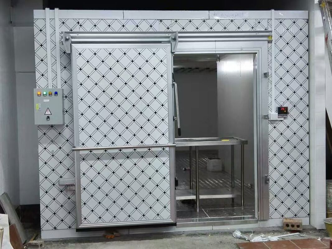 Walk In Cold Room Commercial Refrigerator Freezer Double