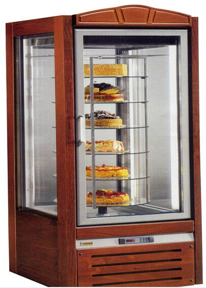 Nn F4t Cake Showcase Commercial Refrigerator Freezer With 6 Glass Doors