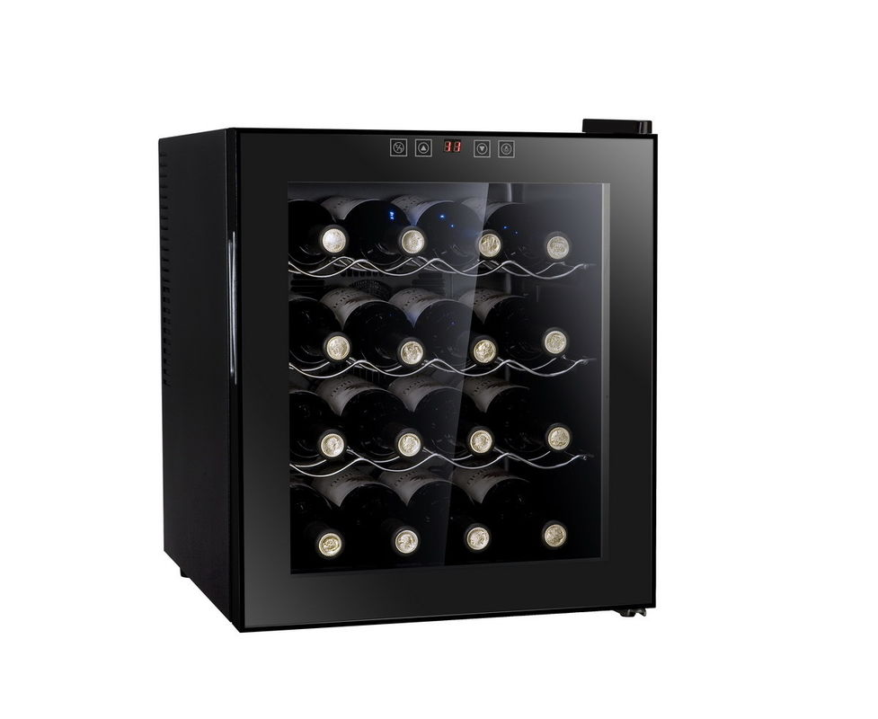 BW-50D1 Wine Cooler Commercial Refrigerator Freezer With Log Shelf