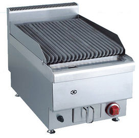 7.2KW Commercial Gas Lava Rock Grill Counter Top Natural Gas Or LPG