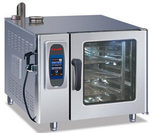 China 6 Tray Commercial Kitchen Equipments Touch Panel Visual Operation 12.5KW/380V distributor
