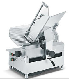 Automatic Food Processing Equipments Counter Top Meat Slicer Stainless Steel Blade