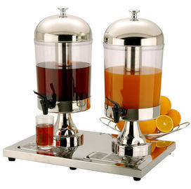 China Stainless Steel  Double Juice Dispenser factory