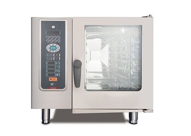China Electric Convection Combi Oven And Steamer Intelligent Cake Baking Oven distributor