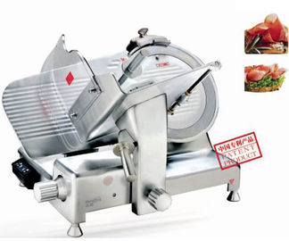 Luxury Electric Frozen Meat Slicer Aluminum Alloy Body Blade Dia.385mm Food Processing Equipment