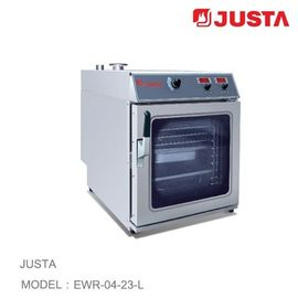 China JUSTA Electric Pizza Oven 4 Tray Combi Steamer Digital Control System distributor