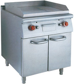 Stainless Steel Hotel Commercial Electric Griddle With Oven For Natural Gas