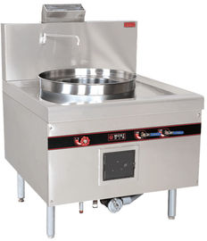 China Stainless Steel Commercial Kitchen Equipments , 52KW Natural Gas Cooking Steamer distributor