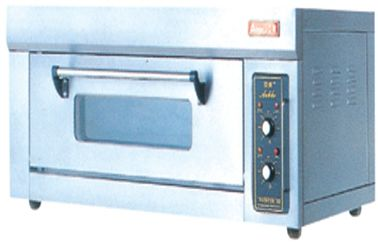 Stainless Steel 2 Tray Electric Baking Ovens FDX-12BQ With Layer , Energy-Saving