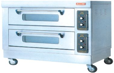 FDX-24BQ 380V 50Hz 2 Layer 4tray Electric Baking Ovens 12KW for West Food Kitchen