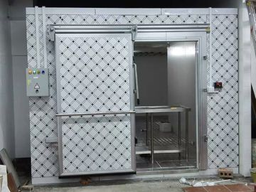 China Walk-in Cold Room Commercial Refrigerator Freezer Double Sided Color Coated Polyurethane Thermal Insulation Board distributor