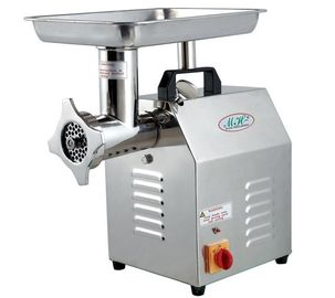 Food Processing Equipments Frozen Meat Grinder 120kg Capacity 304 Stainless Steel  Mincer
