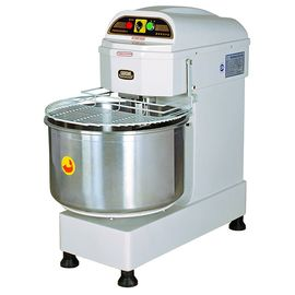 50L / 20KG Commercial Heads-Up Spiral Dough Mixer Two Mixing Speed Food Processing Equipments