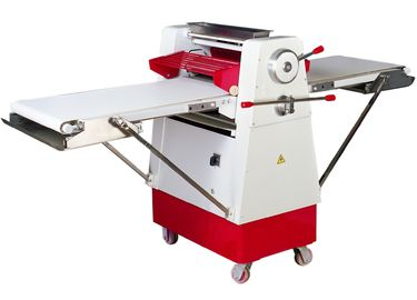 Reversible Floor Model Pastry Sheeter Dough Roller 2430*875*1230mm Food Processing Equipment
