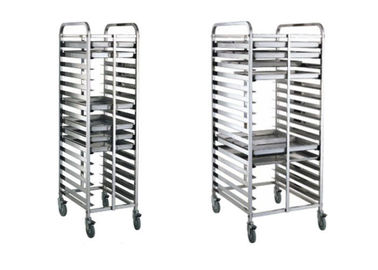 16/32 Tray Full-Size Bun / Sheet Pan Rack Assembled or Welding Type Stainless Steel Catering Equipment