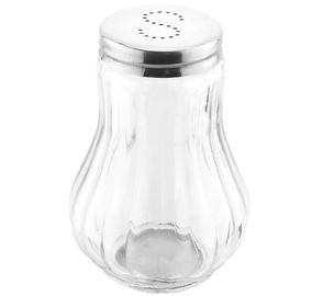 China Salt and Pepper Shakers Soy Sauce and Oil Dispensers / High Transparent Glass Condiment Pots factory