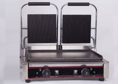 China Double Heads Electric Sandwich Griddle Snack Bar Equipment 110V/220V factory