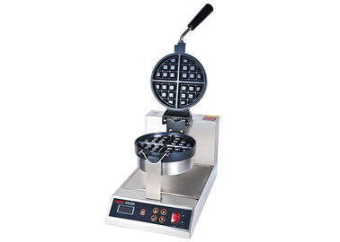 Rotation-Type Digital Electric Waffle Maker With Thick Iron Teflon Non-Stick Heat Plate