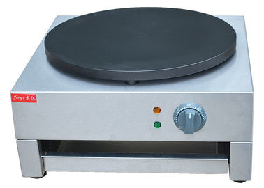 China Single Head Electric Crepe Maker Stainless Steel 3KW 220~240V factory