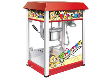 Theater 8 Ounces Popcorn Machine With Roof Top 220V 1450W / Snack Food Machine