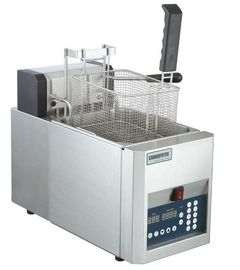 8L Commercial Kitchen Equipments Single Tank Electric Countertop Fryer For Deep Fryer Food