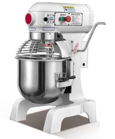 30L Commercial 1100w High Speed Food Processing Equipments / Stainless Steel Food Mixer