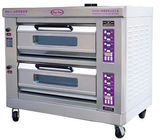 2 Layers Pizza Baking Ovens With Microcomputer Control