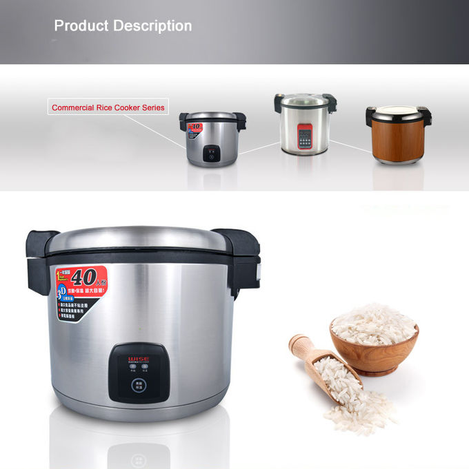 13L Digital Rice Cooker Commercial Rice Warmer 50°C - 150°C 1.95kw 220V