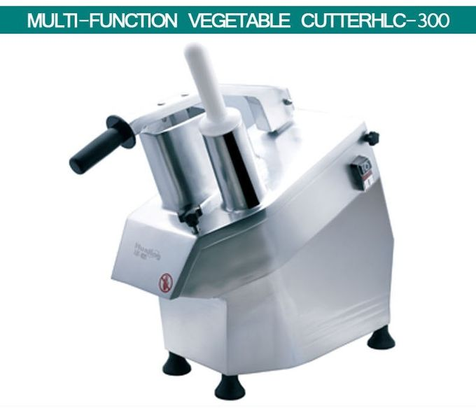Commercial Food Processor Multifunction Vegetable Cutting Machine With 5 Knives