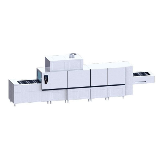 Commercial Chain Conveyor Dishwasher HDW8000L With Drying Function