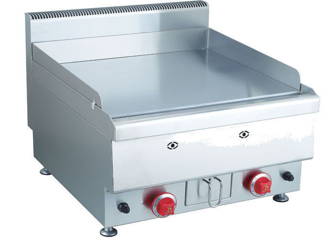 Counter-top Griddle , Electric Griddle Western Kitchen Equipment 600*650*475mm