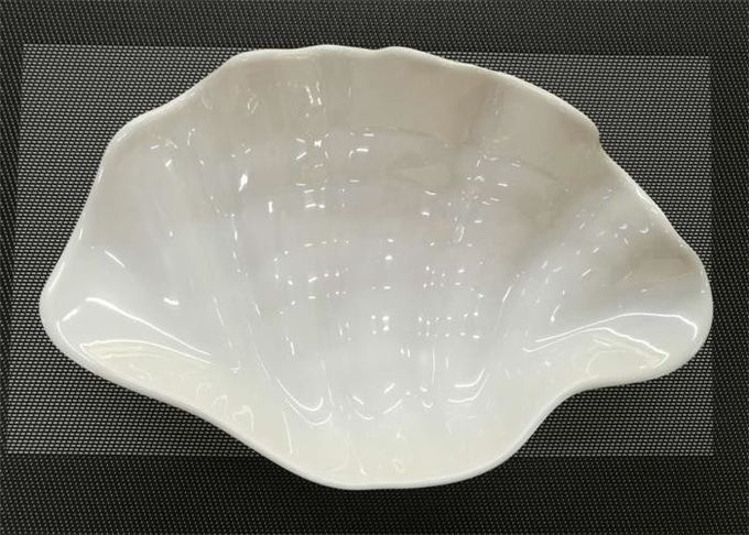 Shell Shape UNK Sushi Pan Unbreakable Plastic Porcelain Dinnerware Weight 208g