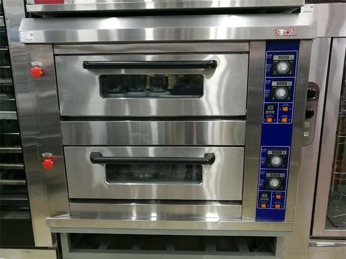Gas Electric Baking Ovens Mechanical Control Independent