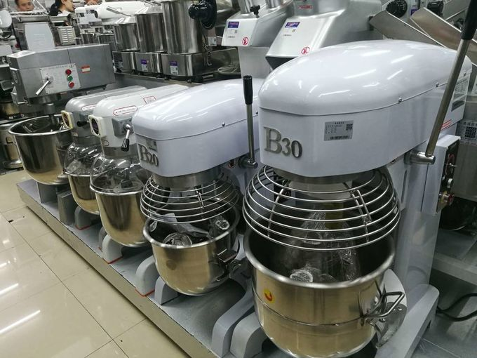 China Food Processing Equipments Eggbeater And Dough Mixer Frequency Conversion Speed 20L Max.Kneading 6KG factory 	 Foo