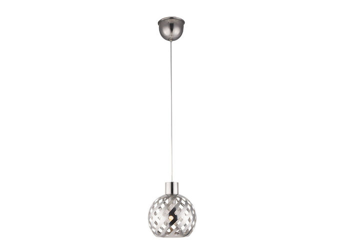 Decorative Restaurant Room Service Equipments , Silver / Gold Stainless Steel Pendant Light Lamp